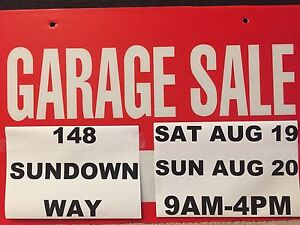 Garage/Moving Sale this weekend in SE Calgary