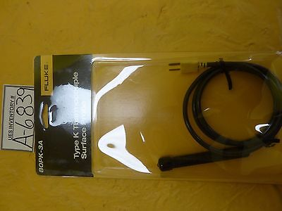 Fluke 874610 Type K Thermocouple Surface Probe 80pic-3a New