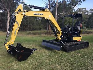 Excavator Hire - 5.5 tonne - Dry Hire East Kurrajong Hawkesbury Area Preview