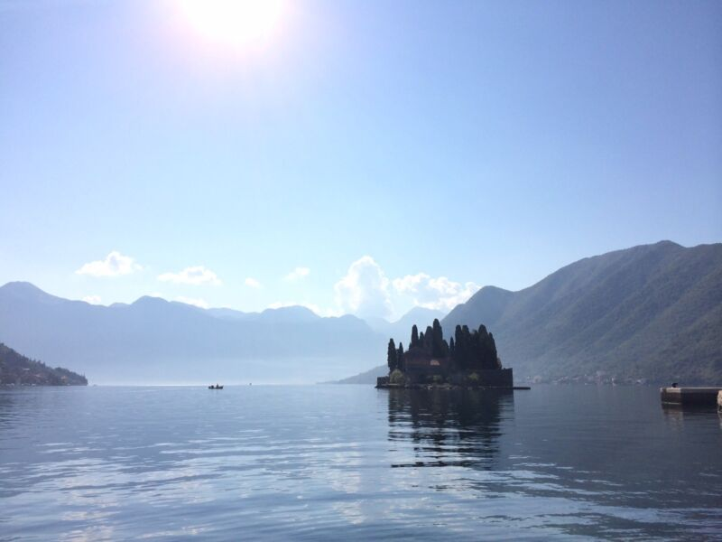 Breath-catching view on Kotor Bay