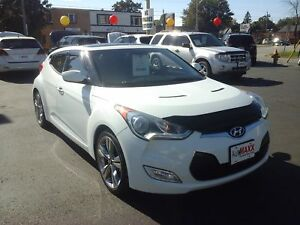 2013 HYUNDAI VELOSTER BASE- PANORAMIC SUNROOF, NAVIGATION SYSTEM