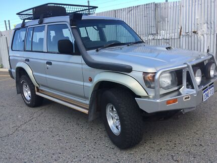 7-seater mitsubishi pajero diesel  Broome 6725 Broome City Preview