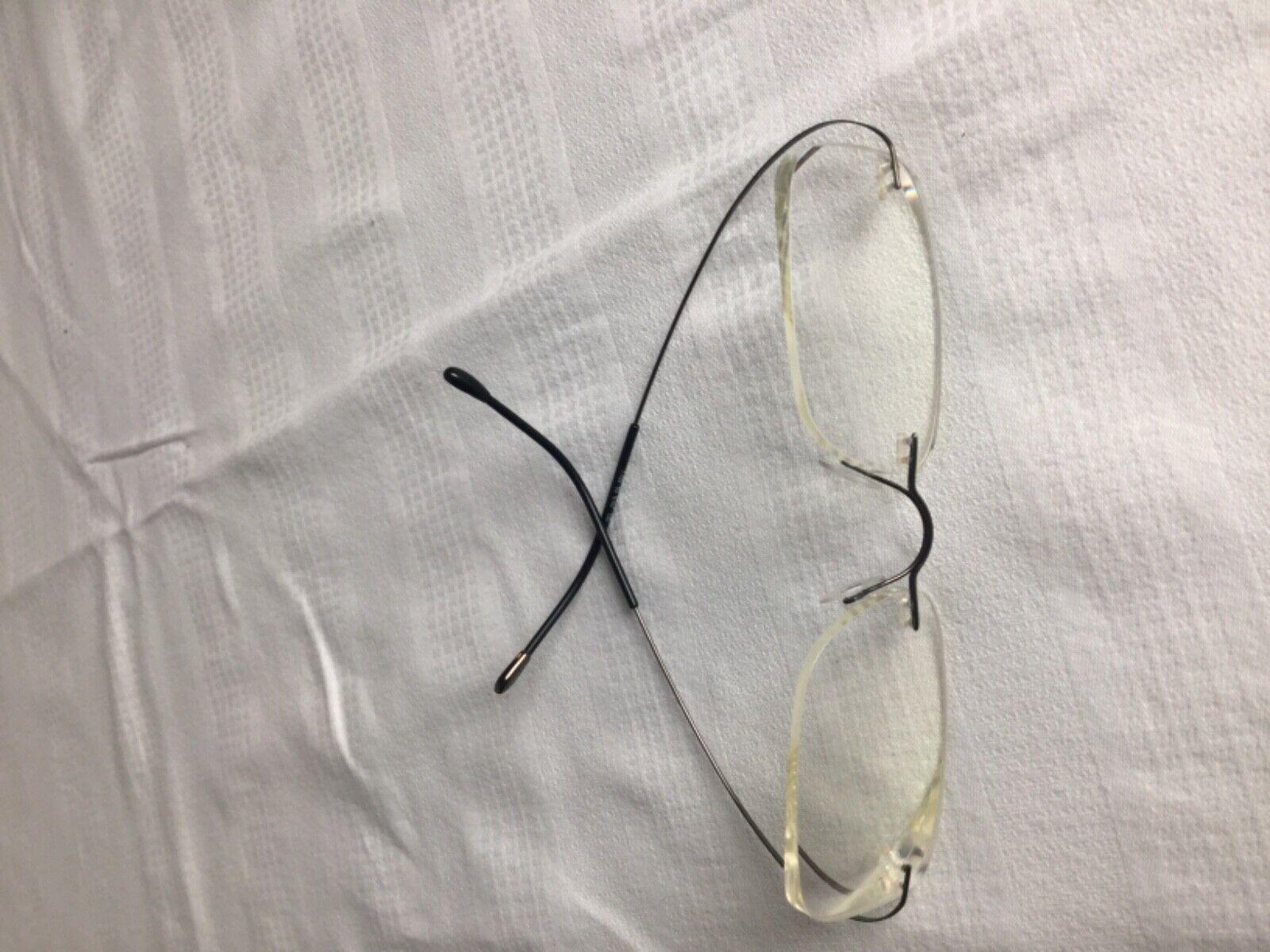 Silhouette Brille mit Brillenfassung aus Titan ultraleicht leicht 11g