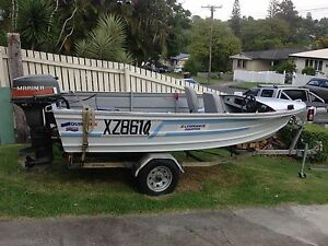 Quintrex 15 foot boat with 40hp mariner Mount Gravatt East Brisbane South East Preview