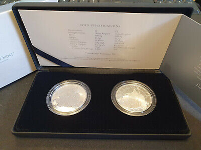 The Britannia 2021 UK £2 Two-Coin Silver (Reverse) Proof Set