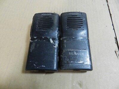 Kenwood Tk-2100 Vhf Portable Radios Lot Of 2 A10
