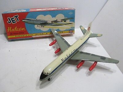 VISPA JET LINER FRICTION POWERED EXCELLENT CONDITON WORKS GOOD WITH BOX