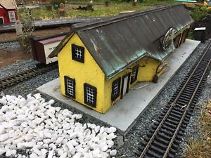 Gscale model railroad buildings wanted