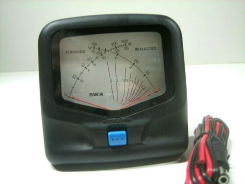 CROSS NEEDLE SWR/WATT METER/ 1.8-200 MHZ.  JTWHF