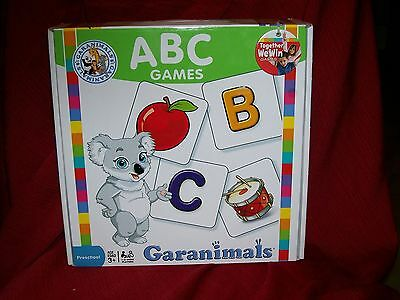 NEW GARANIMALS PRESCHOOL TODDLER GAMES ABC LEARNING EDUCATION AGES 3 AND UP FUN