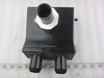 Ernst Leitz Gmbh Wetzlar 302-045.093 Microscope Trinocular Head Part Used