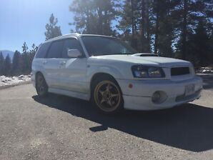 2002 JDM Subaru Forester cross sport