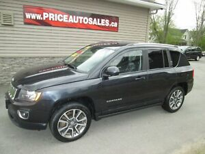 2014 Jeep Compass LIMITED - HEATED LEATHER SEATS