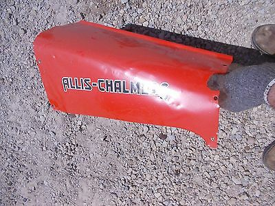 Allis Chalmers G Tractor Original Ac Rear Engine Cover Panel Hood