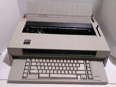 Ibm Wheelwriter 3 Electronic Electric Typewriter Tested Fast Shipping