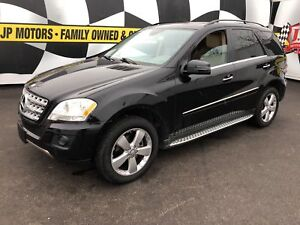 2011 Mercedes-Benz M-Class ML 350, Navi, Leather, Sunroof, AWD