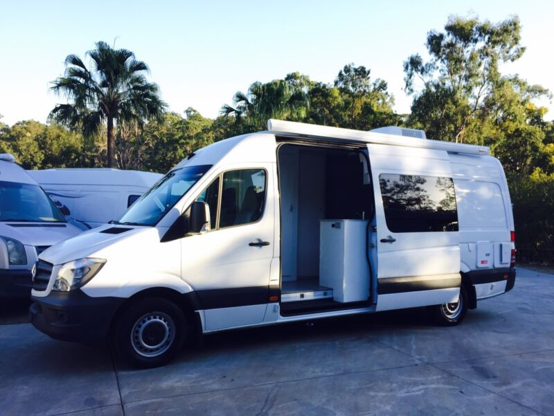 MERCEDES SPRINTER VAN FIT OUTS CAMPER CONVERSION Worongary Gold Coast City Image 2 1 Of 10