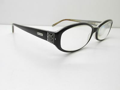 Coach Jill 2015 EYEGLASSES FRAMES 52-16-135 Black Oval 12948