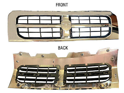 Ram Promaster 1500 2500 3500 Front Chrome Grille Radiator Assembly 2014 To 2018