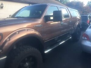 Lifted Ford 150 super crew  fully loaded plus