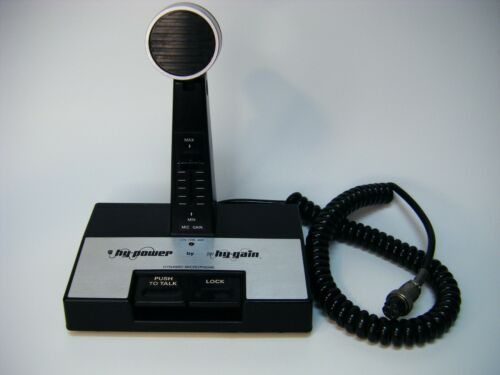 Hy-Power by Hy-Gain Power Base Station Microphone Model #610