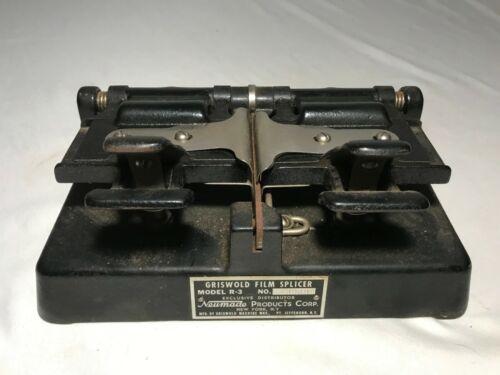 Vintage Griswold Neumade R-3 Film Splicer 16mm