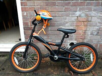 "Fantastic Easter Present, Argos Nitro 16"" wheel kids bike + Aeroplanes helmet"