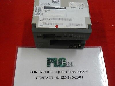 Pca984131 Used Tested Modicon Compact Cpu Pc-a984-131