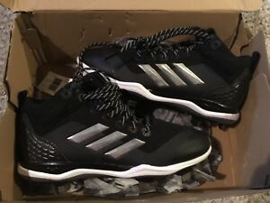 Brand new Adidas metal baseball softball cleats size 7 mens