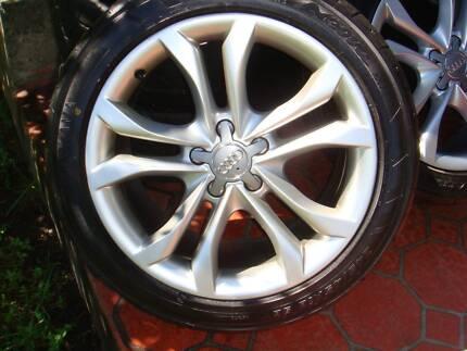"Set Of 18"" Genuine Audi A4 / A6 Rims 5 Stud x 112 PCD !"