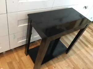 Single black side tables- 1 available