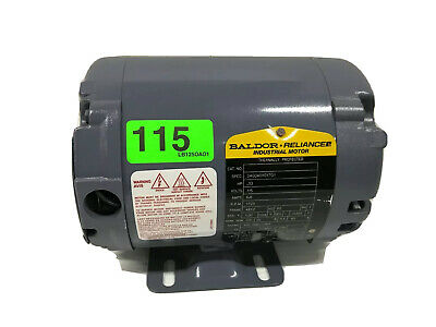 Ultrafryer 17a018 Baldor 2547717999 .33 Hp 115v 48yz 1725rpm Electric Motor