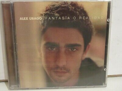 Alex Ubago - Fantasia O Realidad - CD - 2003 - Spain...