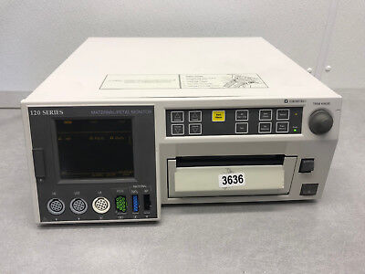 Ge Corometrics 120 Series Maternal Fetal Patient Monitor 3636