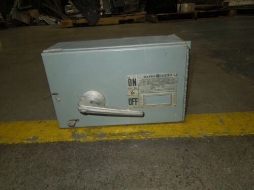 Ge Qmr361 30a Single 3ph 600v Fused Panelboard Switch W/ Hardware Used