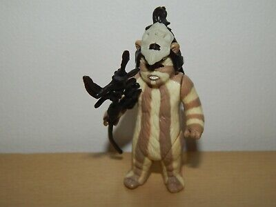 "STAR WARS EWOK LOGRAY 3.75"" ACTION FIGURE #A"