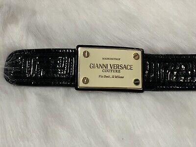 Women Versace Belt Authentic Size 85/34
