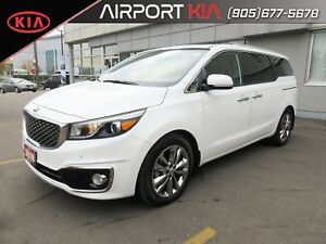 2018 Kia Sedona SXL DEMO / Leather/Dual Sunroof/Apple car play