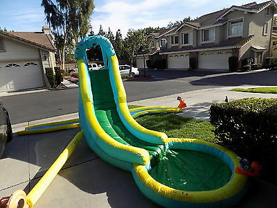 Banzai Inflatable Water Slide Bounce House Commercial Bouncer Jumper Park Pool