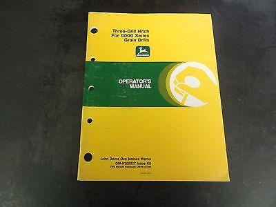 John Deere Three-drill Hitch For 8000 Series Grain Drills Operators Manual  K8