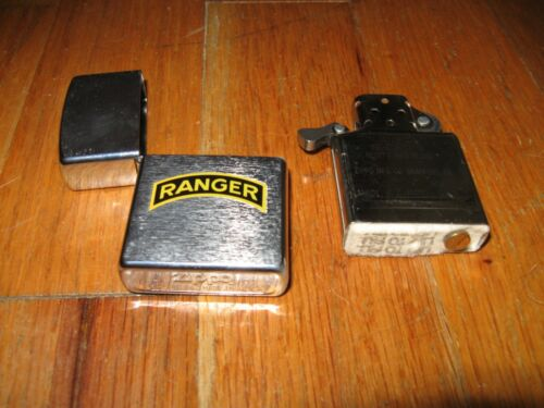 Zippo Army Ranger lighter - never before used, excellent condition