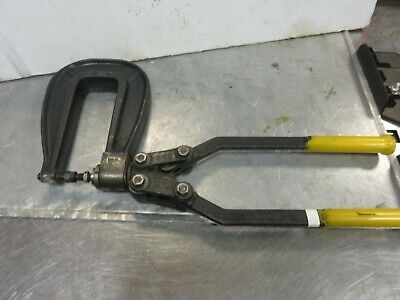 Roper Whitney Da-5 Rivet Squeezer 6 In. Reach Punch Aircraft Tool Excellent