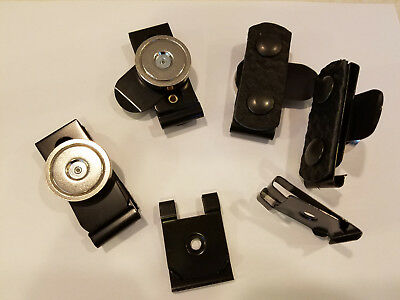 Policesecurity Magnetic Belt Keepers Magnkeeper - 4 Pack