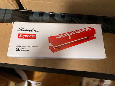 Supreme Swingline Stapler Red