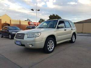 2006 SUBARU FORESTER AUTO MY06 X LUXURY WAGON 5DR 4SP AWD 2.5i Victoria Park Victoria Park Area Preview