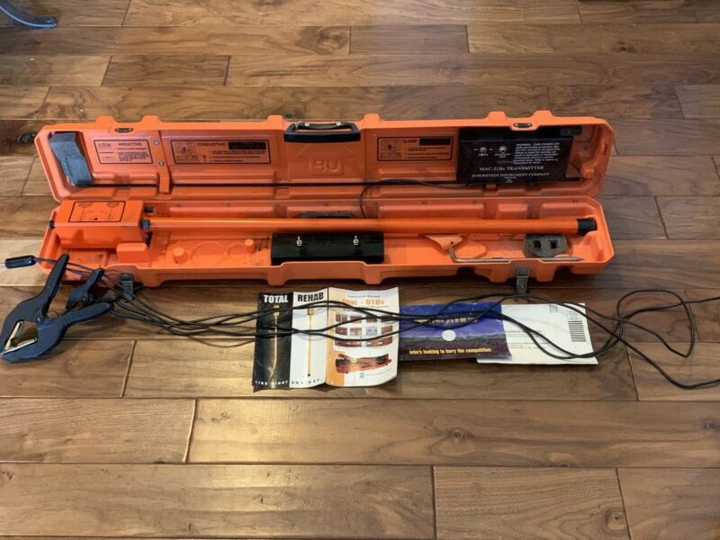 Schonstedt MAC-51Bx Cable Pipe Locator Utility Underground Line Tracer