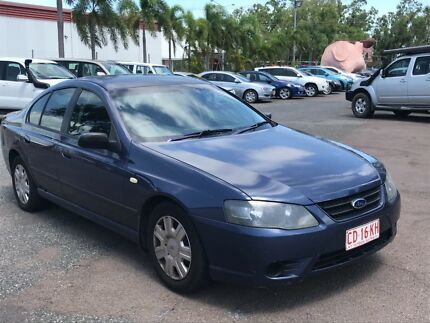 BLUE FORD FALCON BF SEDAN WITH REGO & COLD AIR CON Winnellie Darwin City Preview