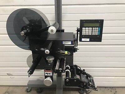 Ctm 360 Merge Label Applicator With T-base Mounting Stand