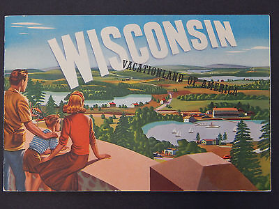 Wisconsin Travel Brochure, 1946 12 Pages