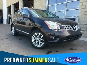2012 Nissan Rogue SL 2.5L, NAVIGATION, SUNROOF, LEATHER HEATE...